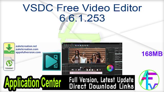 VSDC Free Video Editor 6.6.1.253