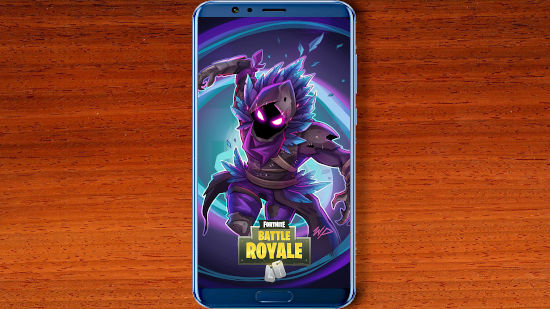Fortnite Battle Royale - Raven (le Corbeau) Titre - QHD pour Mobile