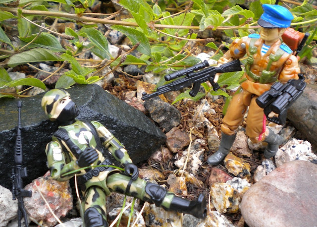 1991 Red Star, Oktober Guard, Black Major, Cammo Cobra Trooper, Bootleg, Custom