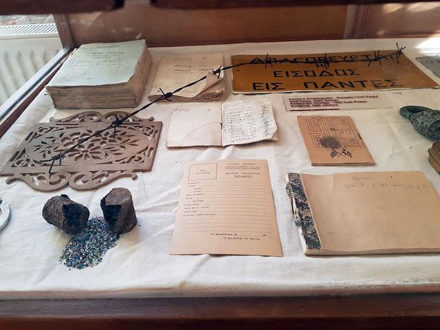 פריטים עתיקים במוזיאון מצודת הפטפירגיו