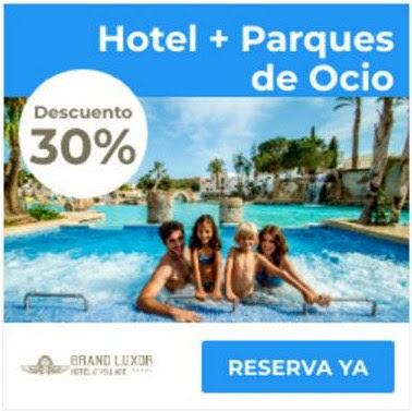 Descuento en Terra Mítica + hotel