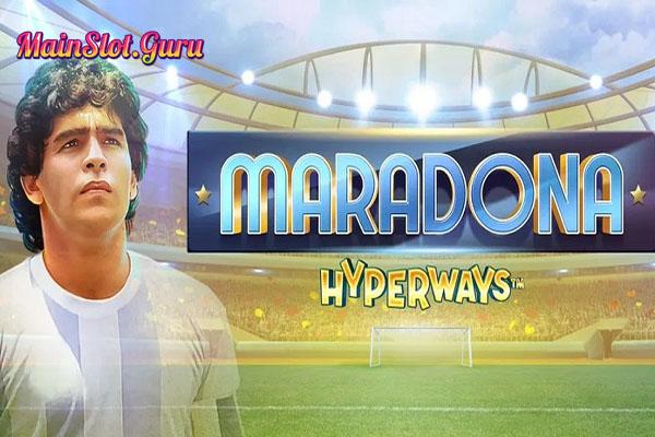 Main Gratis Slot Demo Maradona Hyperways GameArt