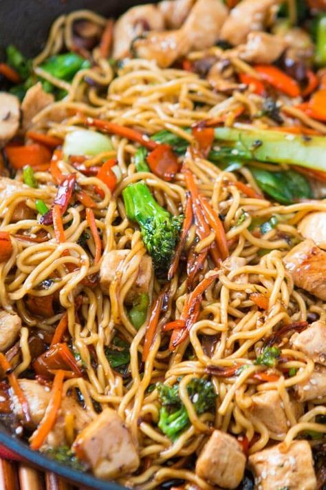 QUICK AND EASY 15 MINUTE CHICKEN STIR FRY