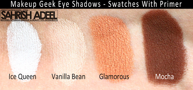 Makeup Geek Eye Shadows - Review & Swatches