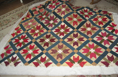 Sister's Choice (variation) quilt block