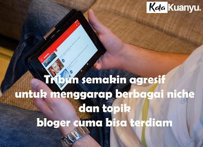 Blogger indonesia terancam tergusur dan punah karena tribun