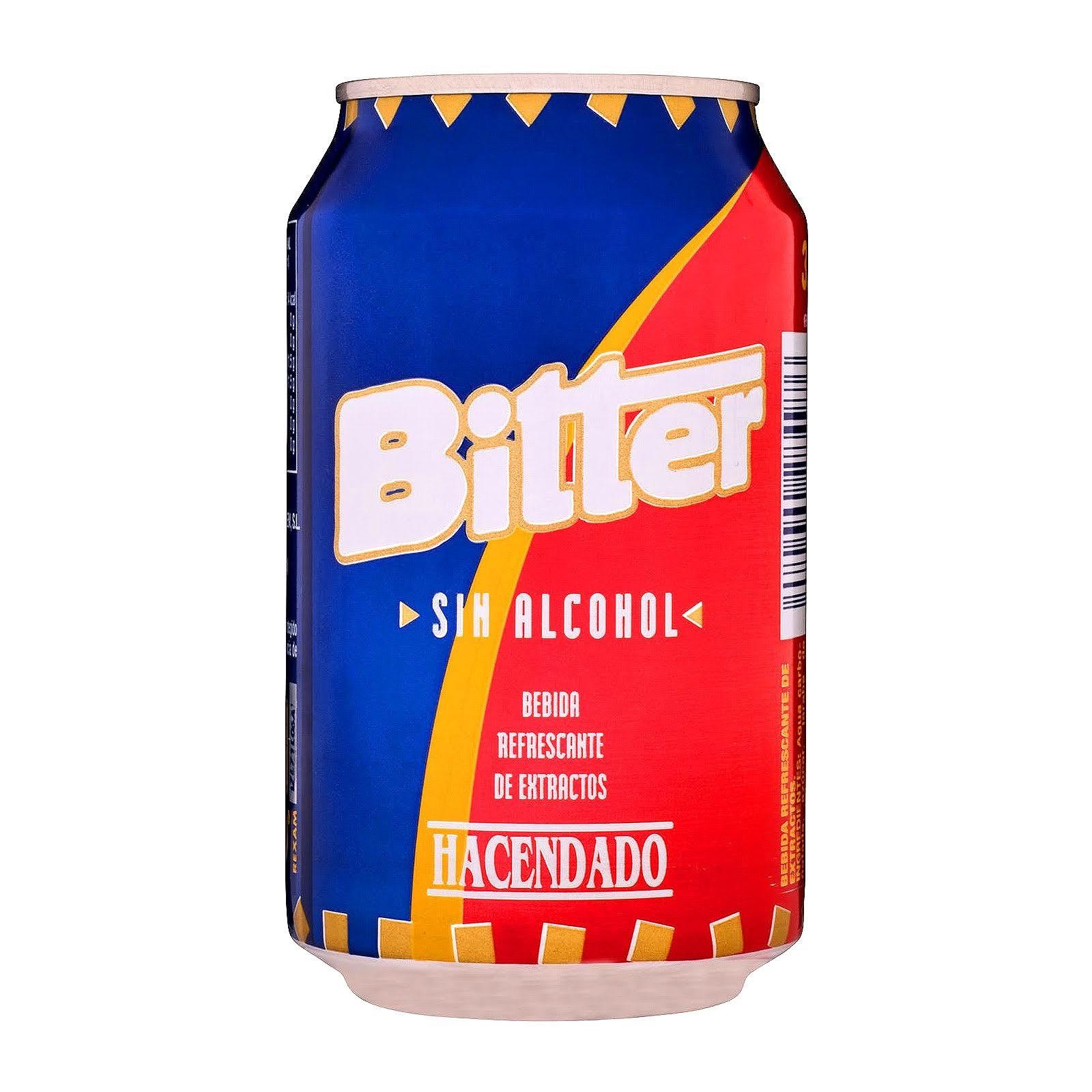 Bitter sin alcohol Hacendado
