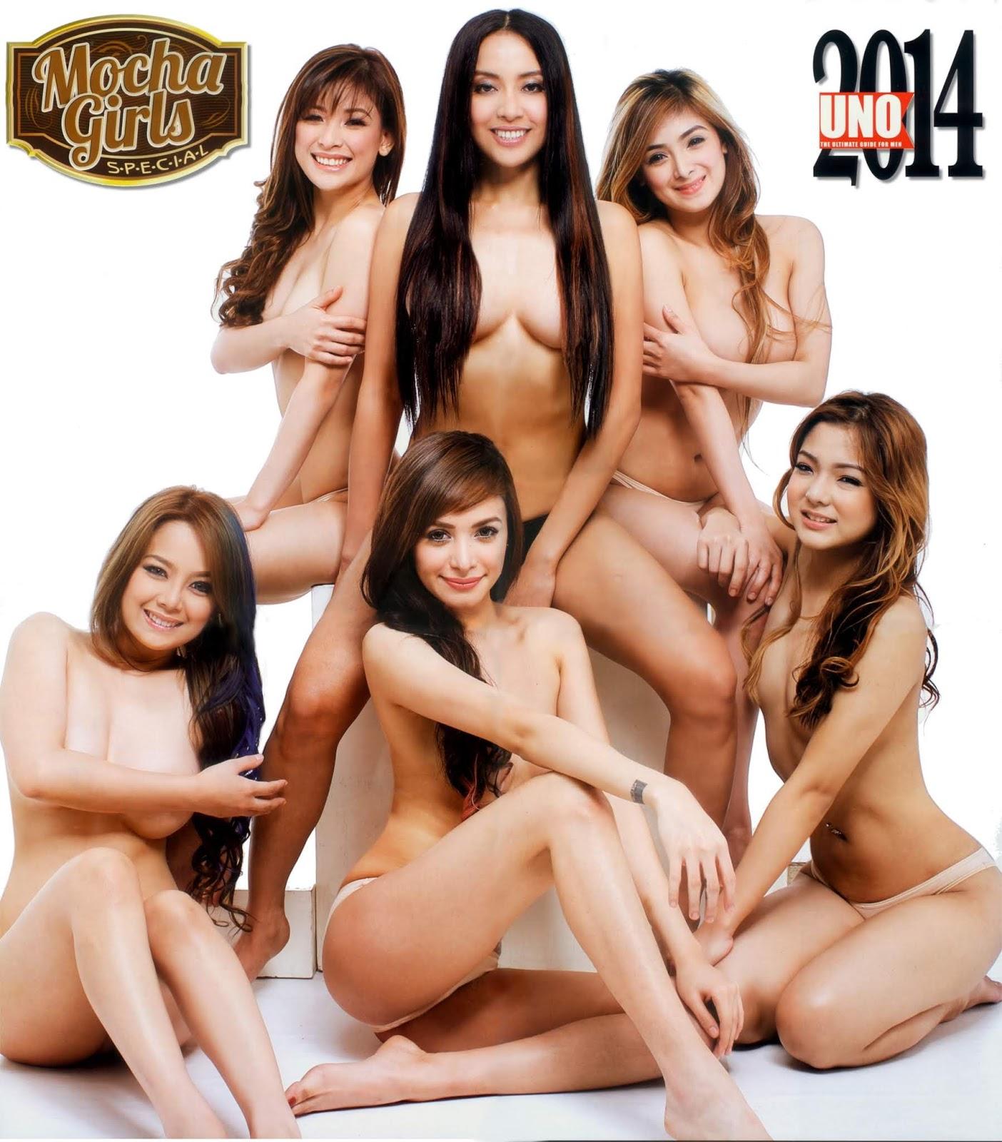 mocha girls uno magazine hot topless pics