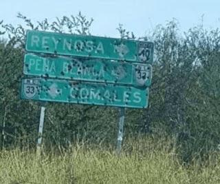 Siguen imparables los enfrentamientos en Tamaulipas, dos camiones monstruo fueron abandonados