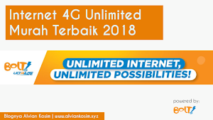 TERMURAH!! Inilah Paket Internet 4G Unlimited Terbaik di 2018 - Paket Internet Unlimited Bolt
