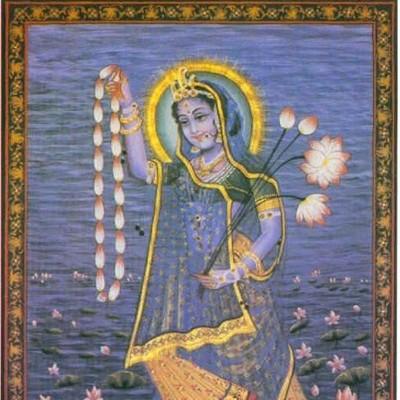 Hindu Goddess yami picture