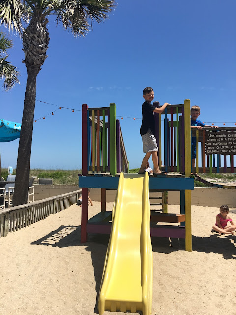 Amelia Island Plantation with a family, Stilettos and Diapers