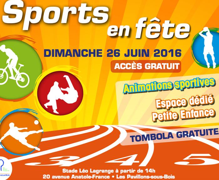 Sports en fête - Les Pavillons-sous-Bois