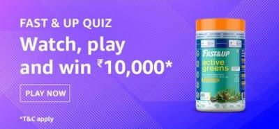 Amazon Fast & Up Quiz Answers