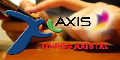 Cara Terbaru Unreg Kartu XL/Axis Yang Sudah Di Registrasi
