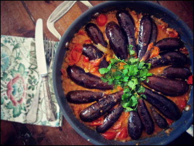 MsMarmiteLover's aubergine curry