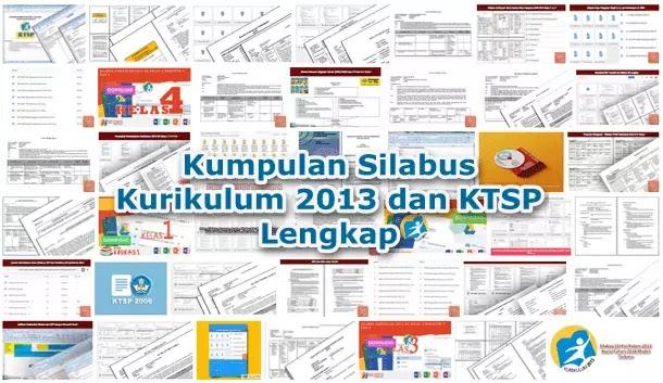 Kumpulan Silabus Kurikulum 2013 dan KTSP Lengkap