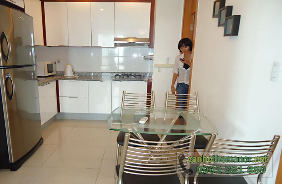 cho thuê căn hộ chung cư the manor quận bình thạnh - phòng bếp