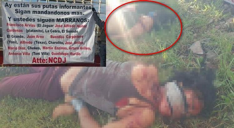 """""""Ay estan tus P..tas informantes"""" Así fueron localizadas las mujeres ejecutadas y degolladas por sicarios del NCDJ, amenazan al CDS"""
