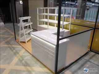 Etalase Display Toko Oleh-Oleh Snack Makanan Ringan + Furniture Semarang