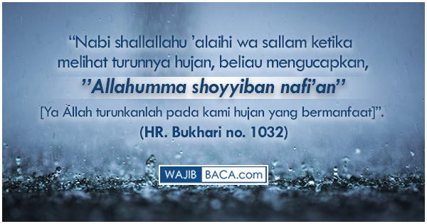 Doa Agar Hujan Berhenti Saat Itu Juga Dan Berpindah Ke