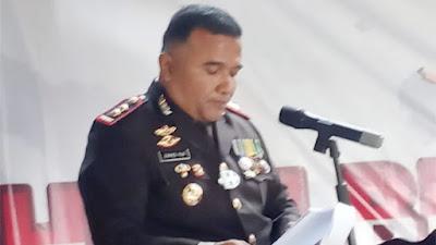 Polres Kota Sawahlunto Peringati HUT Bhayangkara ke-75