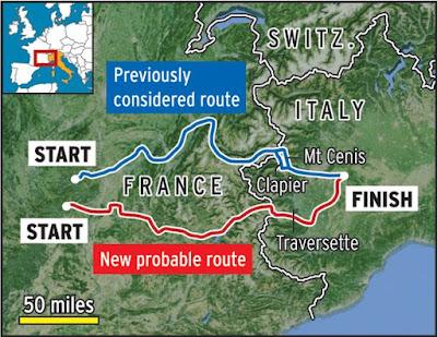 Αλλάζει ο χάρτης της εισβολής του Αννίβα στην Ιταλία