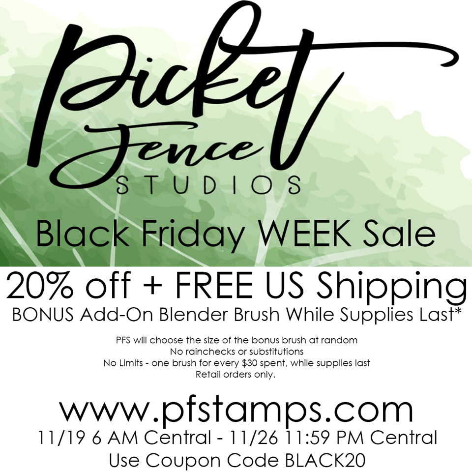 Black Week Sale 1001 Cartes Picket Fence Studios Black Friday Week Sale