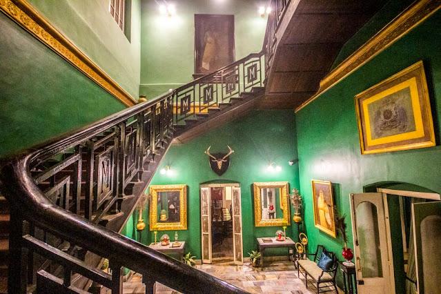 Belgadia Palace architecture