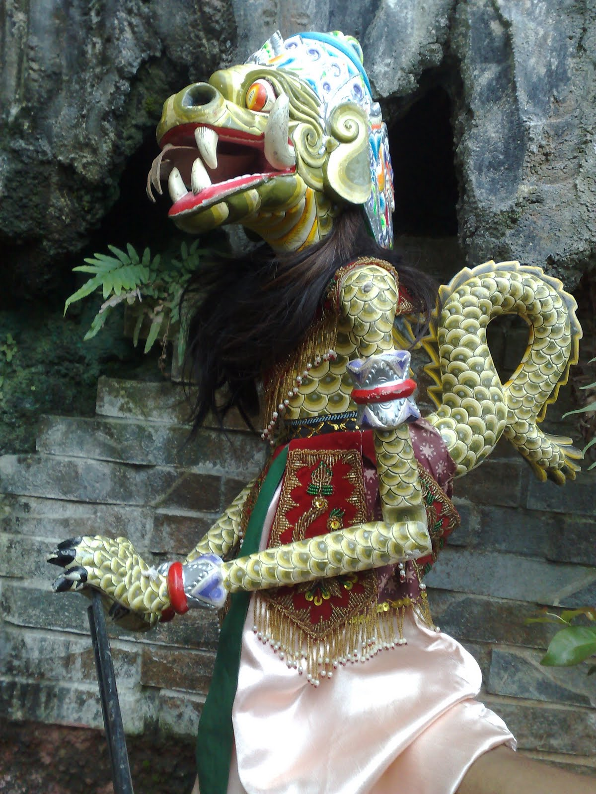 Poto Wayang Golek Hanoman