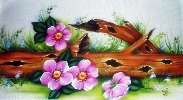 flores-pintura-em-tecido