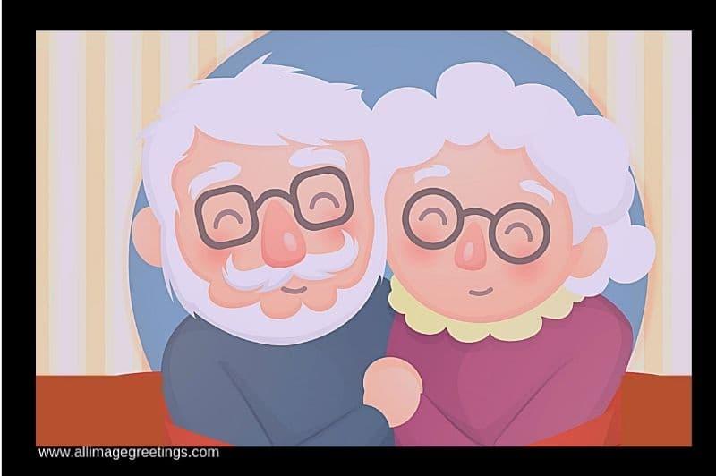 Happy Grandparents day wish image