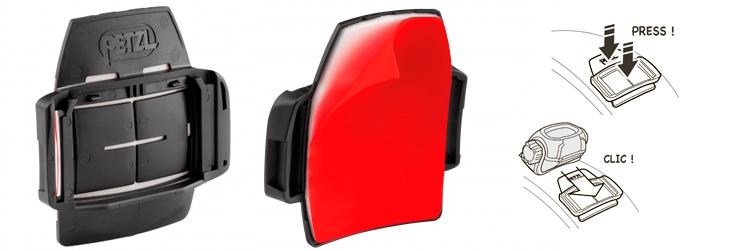 Крепление для фонарей PIXA на каску или сварочную маску