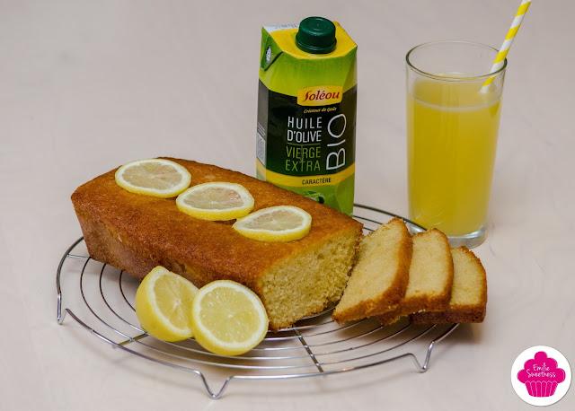 Sublime cake au citron et à l'huile d'olive