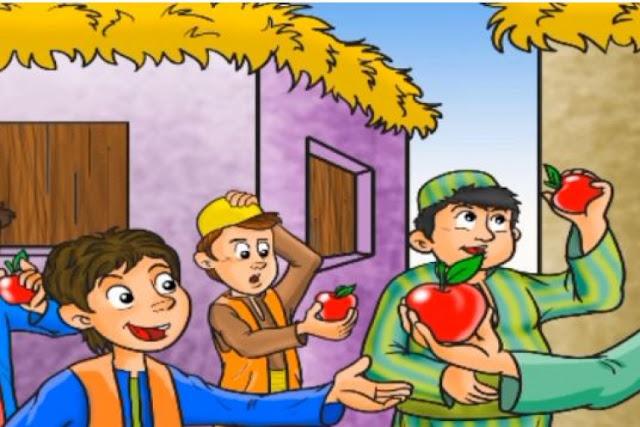 قصص اطفال قصيرة | قصة الله يراني