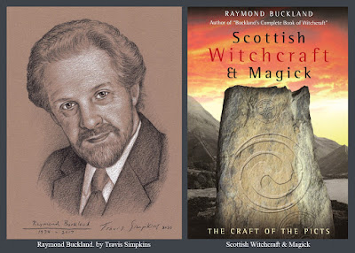 Raymond Buckland. Seax-Wica. Scottish Witchcraft and Magick. Picts. by Travis Simpkins