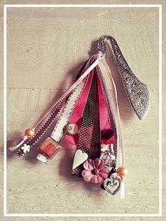 porte-cles-ruban-rose