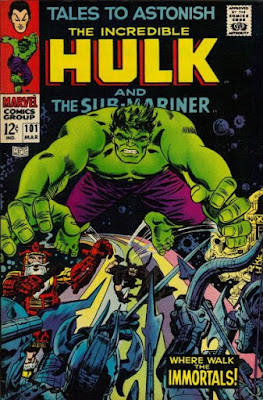 Tales to Astonish #101, the Hulk vs Asgard