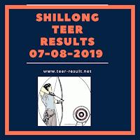 Shillong Teer Results Today-07-08-2019