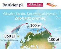zgarnij premie z bankiem millennium