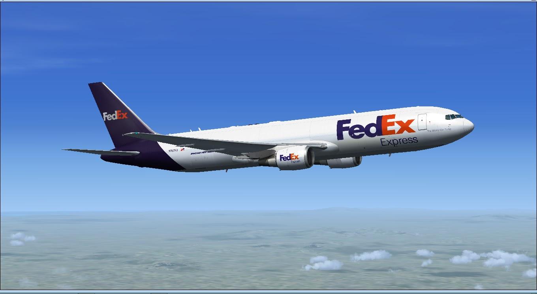 Download Fedex Project Opensky 767 | Waktu Bersimulasi | Waktu