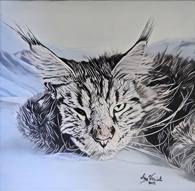 https://magwozniakart.blogspot.com/2019/05/mainecoonman-series-in-progress.html