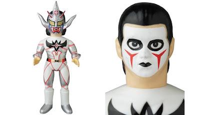 Jushin Thunder Liger Demon God Edition Sofubi Fighting Series Vinyl Figures by Medicom Toy