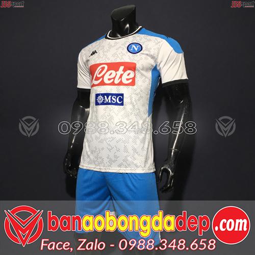 Áo Napoli Màu Trắng 2020 Sân Khách