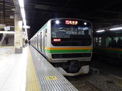 【3月ダイヤ改正で廃止!】通勤快速 高崎行きE231系