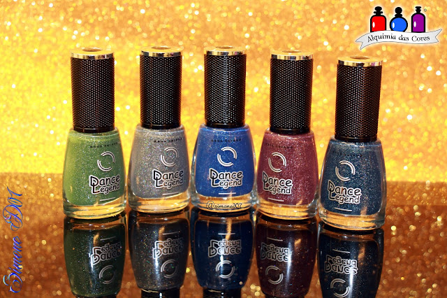 Dance Legend, Military Collection, 07 Triumph, Azul, teal, glitter, Holográfico, holographic, esmalte, russo, semana asiática, Alquimia das Cores, Mony D07,