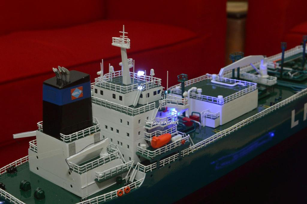 tempat jual miniatur kapal gas komodo pertamina harga murah rumpun artwork temanggung planet kapal indonesia