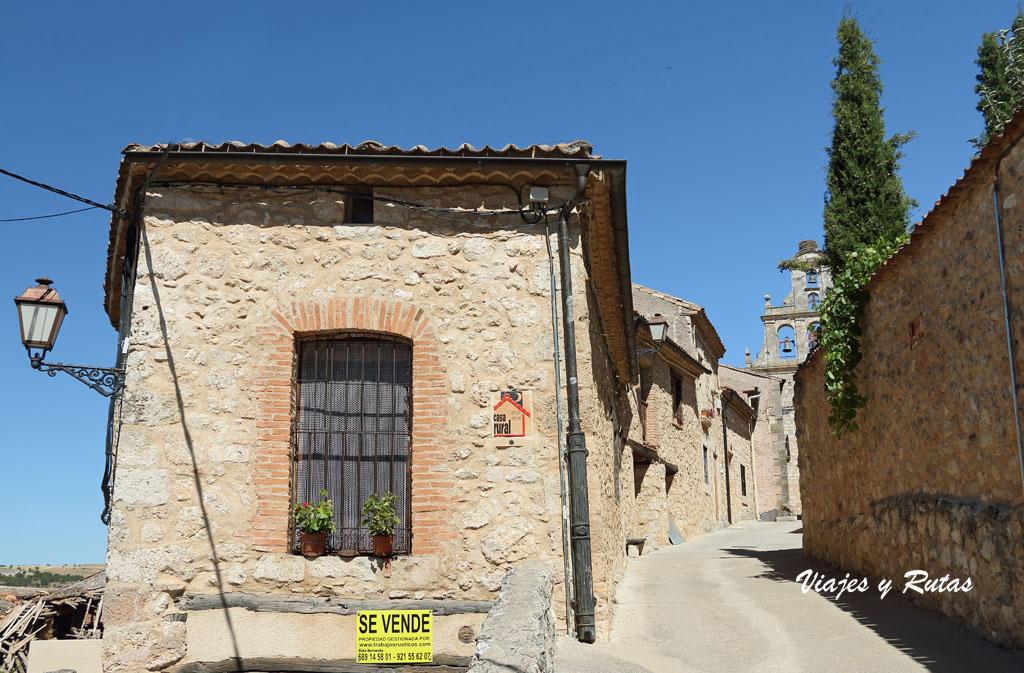 Calle de abajo, Maderuelo