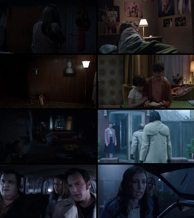 The Conjuring 2 2016 English 720p BRRip