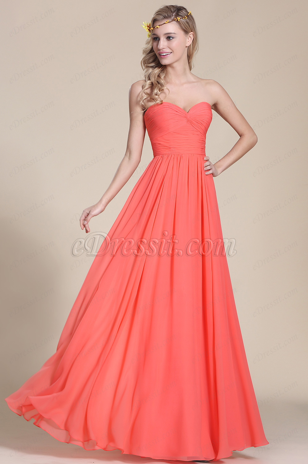 3 coral dress for wedding Six Coral Bridesmaid Dresses You ll Love